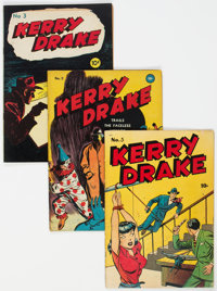Kerry Drake #2-5 Group (Argo Publishing, 1946) Condition: Average VG.... (Total: 4 )