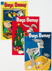 Bugs Bunny Group of 4 (Dell, 1955-56) Condition: Average VF+.... (Total: 4 )