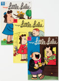 Golden Age (1938-1955):Humor, Marge's Little Lulu #81-84 Group (Dell, 1955) Condition: Average VF/NM.... (Total: 4 )
