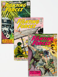 Our Fighting Forces Group of 21 (DC, 1961-70) Condition: Average VG+.... (Total: 21)