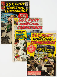 Sgt. Fury and His Howling Commandos Group of 10 (Marvel, 1964-69) Condition: Average VG+.... (Total: 10 Comic Books)