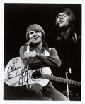 """Music Memorabilia:Autographs and Signed Items, Glen Campbell Signed and Inscribed 8"""" x 10"""" Photo. ..."""