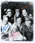 "Movie/TV Memorabilia:Autographs and Signed Items, M*A*S*H Cast Signed 8"" x 10"" Photo. ..."