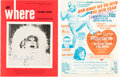 Movie/TV Memorabilia:Autographs and Signed Items, Phyllis Diller Signed Items (2). ...