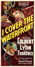 Movie Posters:Drama, I Cover the Waterfront (United Artists, 1933). Very Fine- ...
