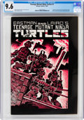 Modern Age (1980-Present):Alternative/Underground, Teenage Mutant Ninja Turtles #1 (Mirage Studios, 1984) CGC NM+ 9.6 Off-white to white pages....