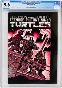 Teenage Mutant Ninja Turtles #1 (Mirage Studios, 1984) CGC NM+ 9.6 Off-white to white pages