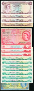 World Currency, World (Bahamas, Barbados, Belize, Bermuda, British Caribbean, East Caribbean) Group Lot of 27 Examples Very Good-Very Fine.... (Total: 27 notes)