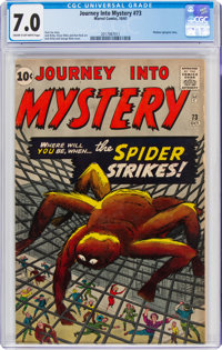 Journey Into Mystery #73 (Marvel, 1961) CGC FN/VF 7.0 Cream to off-white pages