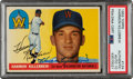 Autographs:Sports Cards, Signed 1955 Topps Harmon Killebrew #124 PSA Authentic, PSA...