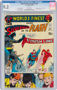 World's Finest Comics #199 (DC, 1970) CGC NM- 9.2 White pages