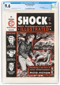 Magazines:Crime, Shock Illustrated #1 Gaines File Pedigree 4/12 (EC, 1955) CGC NM+ 9.6 Off-white to white pages....