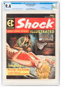 Magazines:Crime, Shock Illustrated #2 Gaines File Pedigree 4/12 (EC, 1956) CGC NM 9.4 Off-white to white pages....