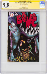 Bone Halloween Mini Comic #nn Signature Series: Jeff Smith (Cartoon Books, 2008) CGC NM/MT 9.8 White pages