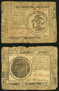 Continental Currency February 17, 1776 $3 Fine-Very Fine; Continental Currency May 9, 1776 $7 Very Good. ... (Total: 2 n...