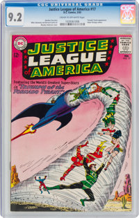 Justice League of America #17 (DC, 1963) CGC NM- 9.2 Cream to off-white pages