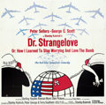 """Movie Posters:Comedy, Dr. Strangelove or: How I Learned to Stop Worrying and Love the Bomb (Columbia, 1964). Folded, Very Fine-. Six Sheet (80"""" X ..."""