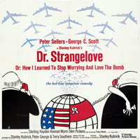 Dr. Strangelove or: How I Learned to Stop Worrying and Love the Bomb (Columbia, 1964). Folded, Very Fine-. Six Sheet (80...