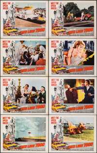 """Red Line 7000 (Paramount, 1965). Fine/Very Fine. Lobby Card Set of 8 (11"""" X 14""""). Sports. ... (Total: 8 Items)"""