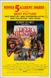 """The Deer Hunter & Other Lot (Universal, 1978). Folded, Overall: Fine/Very Fine. One Sheet (27"""" X 41""""), Lob..."""