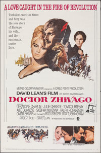 "Doctor Zhivago & Other Lot (MGM, 1965). Folded, Very Fine-. One Sheets (3) (27"" X 41"") & Lobby Card (1..."