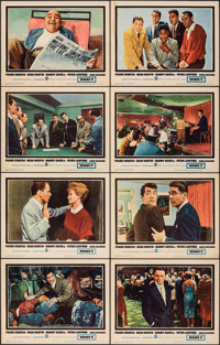 "Ocean's 11 (Warner Bros., 1960). Fine/Very Fine. Lobby Card Set of 8 (11"" X 14""). Crime. ... (Total: 8 Items)"
