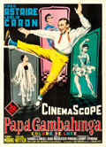 Movie Posters:Musical, Daddy Long Legs (20th Century Fox, 1955). Fine/Very Fine o...