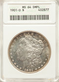 1901-O $1 MS64 Deep Mirror Prooflike ANACS. ...(PCGS# 97275)