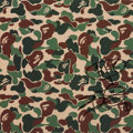 Prints & Multiples, Nigo (b. 1970). Untitled (BAPE Camo), early 21st century. Offset lithograph in colors on paper. 11-3/4 x 11-3/4 inches (...
