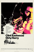 """Movie Posters:Crime, Dirty Harry (Warner Bros., 1971). Very Fine- on Linen. One Sheet (27"""" X 41"""") Bill Gold Artwork.. ..."""