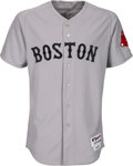 Baseball Collectibles:Uniforms, 2009 Jacoby Ellsbury Game Worn Boston Red Sox Jersey - MLB Authentic. ...