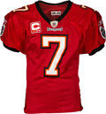 Football Collectibles:Uniforms, 2008 Jeff Garcia Game Worn & Unwashed Tampa Bay Buccaneers - Photo Matched to Multiple Games!...