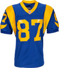 Football Collectibles:Uniforms, 1999 Ricky Proehl Game Worn St. Louis Rams Jersey with Two Repairs. ...