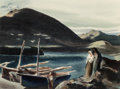 Works on Paper, Millard Sheets (American, 1907-1989). Windswept, 1937. Watercolor on paper. 22-7/8 x 30-5/8 inches (58.1 x 77.8 cm) (she...