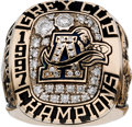 Football Collectibles:Others, 1997 Toronto Argonauts Grey Cup CFL Championship Ring. ...