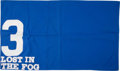 Miscellaneous Collectibles:General, 2005 Lost In The Fog Golden Gate Track Record Saddle Cloth....