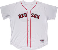2006 Jonathan Papelbon Game Worn Boston Red Sox Jersey