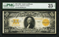 Large Size:Gold Certificates, Fr. 1187 $20 1922 Gold Certificate PMG Very Fine 25 EPQ.. ...