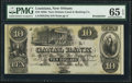 Obsoletes By State:Louisiana, New Orleans, LA- New Orleans Canal and Banking Company $10 18__ G24a Remainder PMG Gem Uncirculated 65 EPQ.. ...
