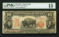 Large Size:Legal Tender Notes, Fr. 120 $10 1901 Legal Tender PMG Choice Fine 15.. ...