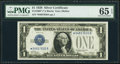 Small Size:Silver Certificates, Fr. 1600* $1 1928 Silver Certificate. PMG Gem Uncirculated 65 EPQ.. ...