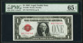Fr. 1500 $1 1928 Legal Tender Note. PMG Gem Uncirculated 65 EPQ