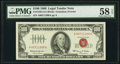 Fr. 1550 $100 1966 Legal Tender Note. PMG Choice About Unc 58 EPQ