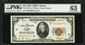 Fr. 1870-F $20 1929 Federal Reserve Bank Note. PMG Choice Uncirculated 63