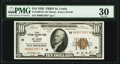 Fr. 1860-H* $10 1929 Federal Reserve Bank Star Note. PMG Very Fine 30