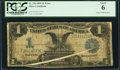 Error Notes:Large Size Errors, Fr. 236 $1 1899 Silver Certificate PCGS Good 6.. ...