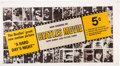 "Music Memorabilia:Memorabilia, The Beatles Movie Promo Uncut Sheet of ""A Hard Days Night"" Bubble Gum Picture Cards(Topps,1964)...."