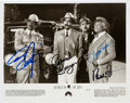 "Movie/TV Memorabilia:Autographs and Signed Items, Eddie Murphy/Richard Pryor/Della Reese/Redd Foxx Signed Harlem Nights 8"" x 10"" Promo Photo (1989)...."