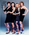 """Movie/TV Memorabilia:Autographs and Signed Items, Sex and the City Cast Signed 8"""" x 10"""" Color Photo. ..."""
