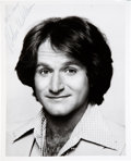 "Movie/TV Memorabilia:Autographs and Signed Items, Robin Williams Signed and Inscribed 8"" x 10"" Promo Photo. ..."